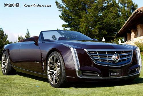 """粗粗凯迪拉克发布的这款ciel概念车,其在法语中""""ciel""""的意高清图片"""