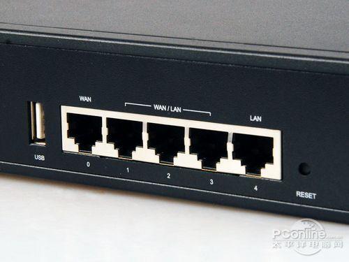 以太网接口的左边有一个usb接口