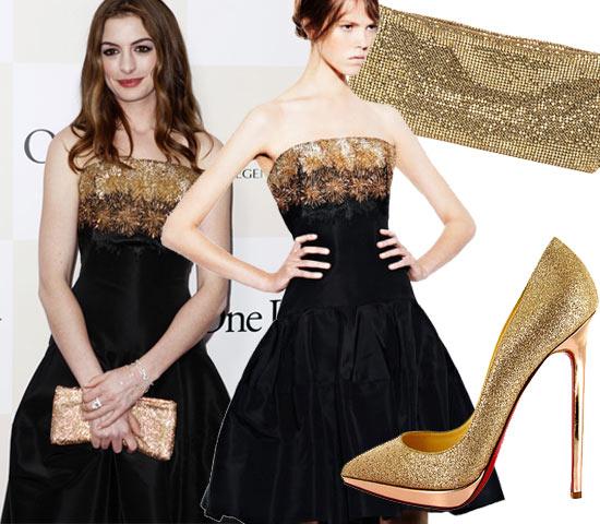九月必备时尚单品 金色手袋&高跟鞋奢华复兴(图2)