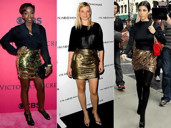 九月必备时尚单品 金色手袋&高跟鞋奢华复兴(图4)