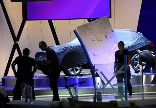 英菲尼迪jx概念车高清图片