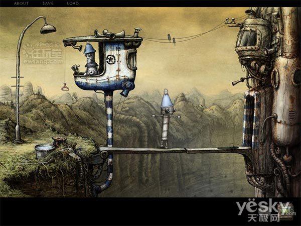 ipad2专属神作——《机械迷城》游戏指南(1)