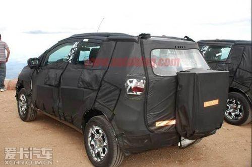 未来或国产 福特小型SUV Ecosport曝光高清图片