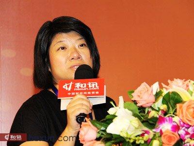 深圳市金融发展服务办公室处长 庄睿宁女士