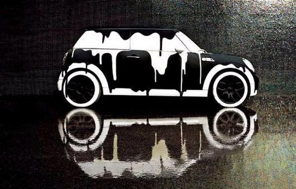 汽车卡通素材黑白