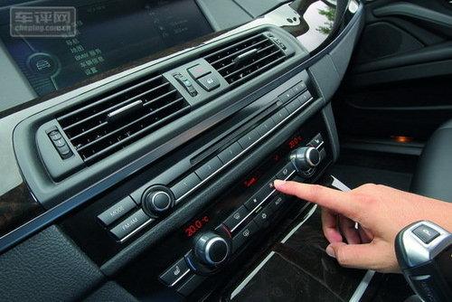 空调、音响和其它BMW车型的操作界面一样,不需要研究就能使用-经高清图片