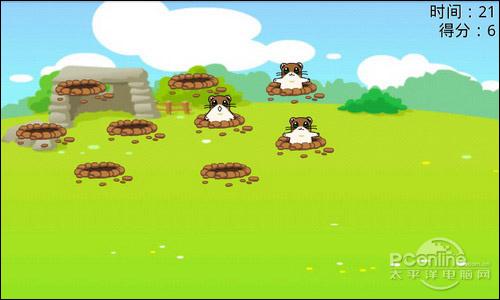科技 正文    《农场地鼠》是一款相当经典的小游戏.