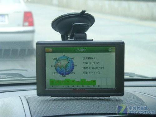 车内的导航仪