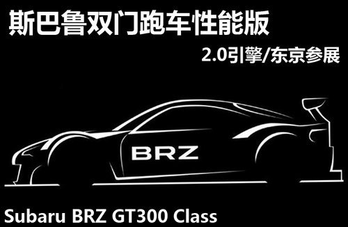 brz双门跑车之前曾连续发布了很多的信息,现在斯巴鲁汽车将会高清图片