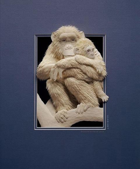 精美绝伦的纸雕艺术作品欣赏
