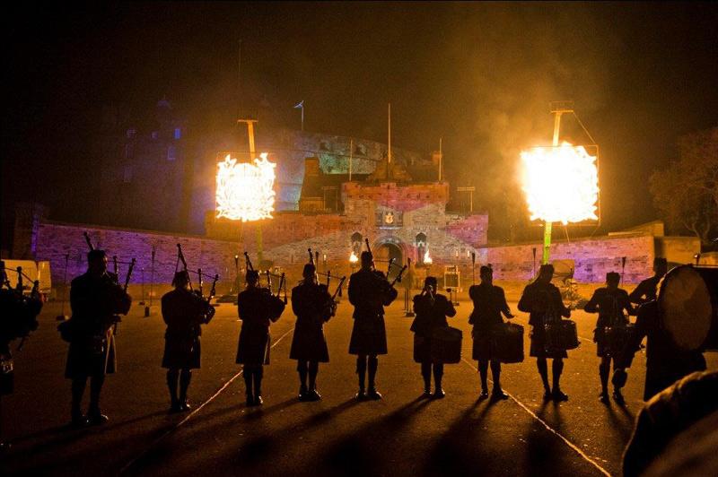 圣安德鲁日 演绎苏格兰风情的盛典