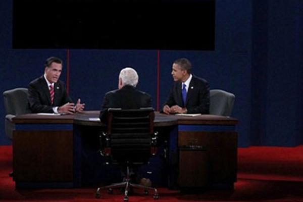 美国总统大选最后一场辩论举行