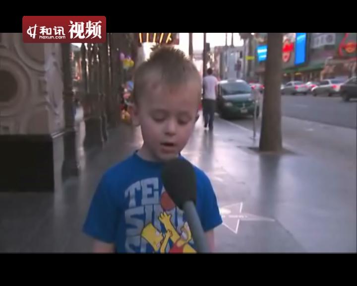 英国4岁小男孩讲圣诞节故事