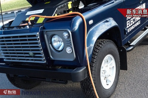 路虎试验电动SUV 电动卫士日内瓦亮相图片
