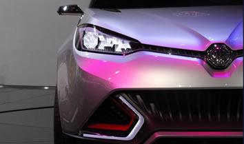 MG品牌首款城市SUV概念车亮相上海车展