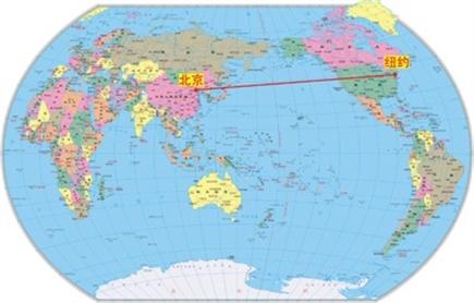 郝晓光 把世界地图竖起来(附照片)