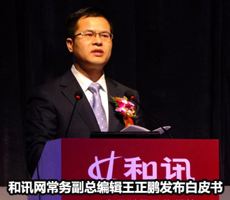 和讯网常务副总编辑王正鹏发布白皮书