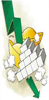 日内跌幅最大行情――白银4月16日下跌9%