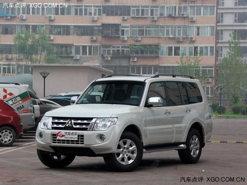 三菱汽车帕杰罗-进口三菱帕杰罗最高优惠5.5万元 有现车高清图片