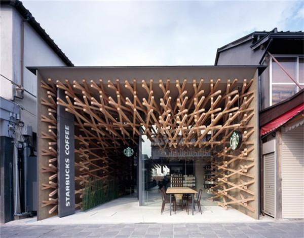 园林咖啡馆建筑设计