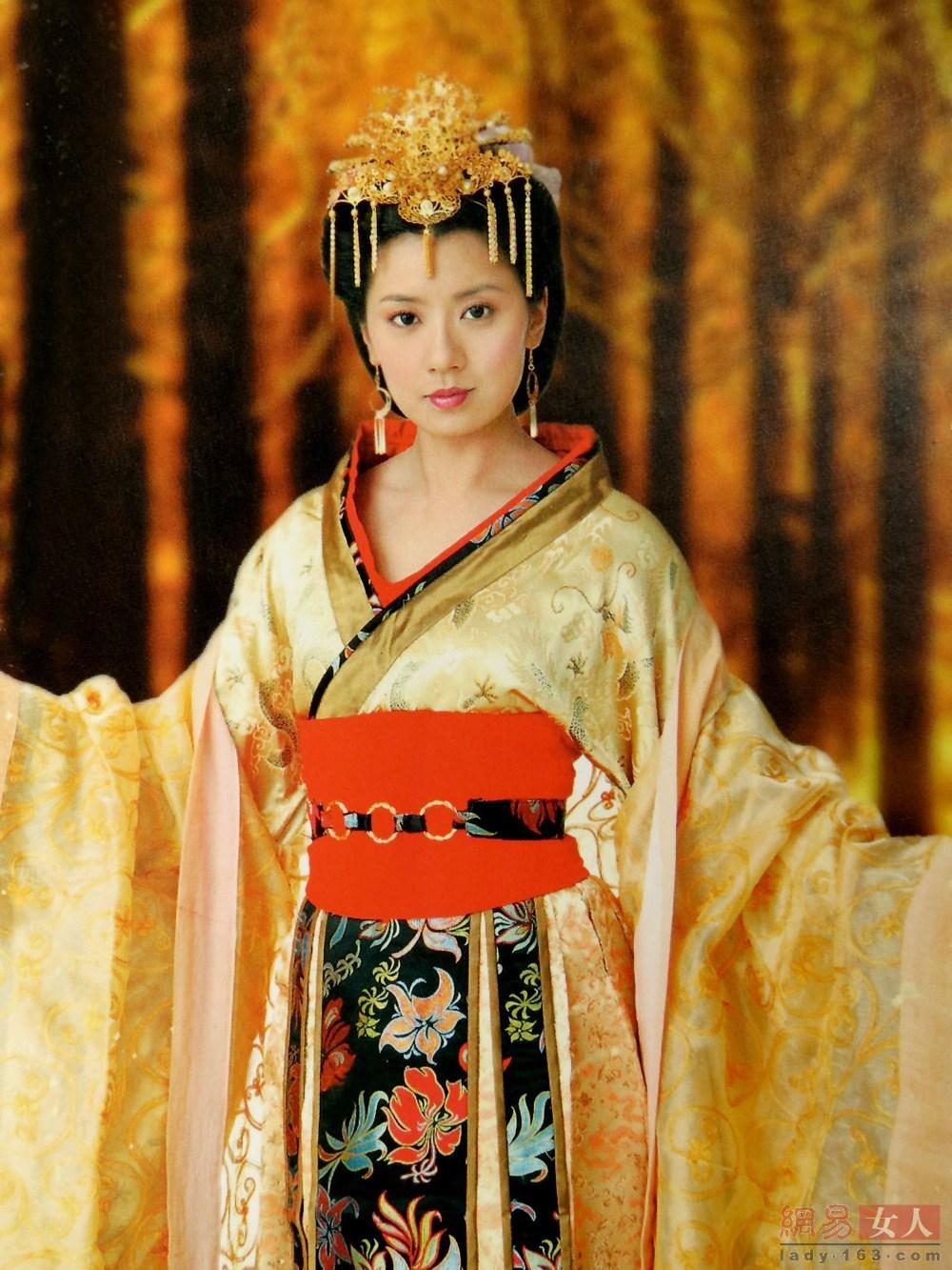 范冰冰版武则天美哭了 中韩皇后颜值大比拼