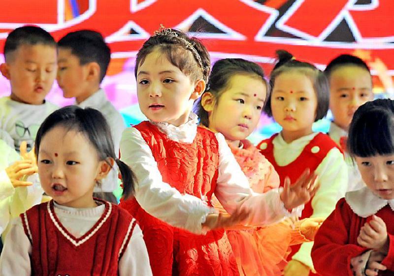 乌鲁木齐市第一幼儿园举行了一场精彩的喜迎元旦晚会
