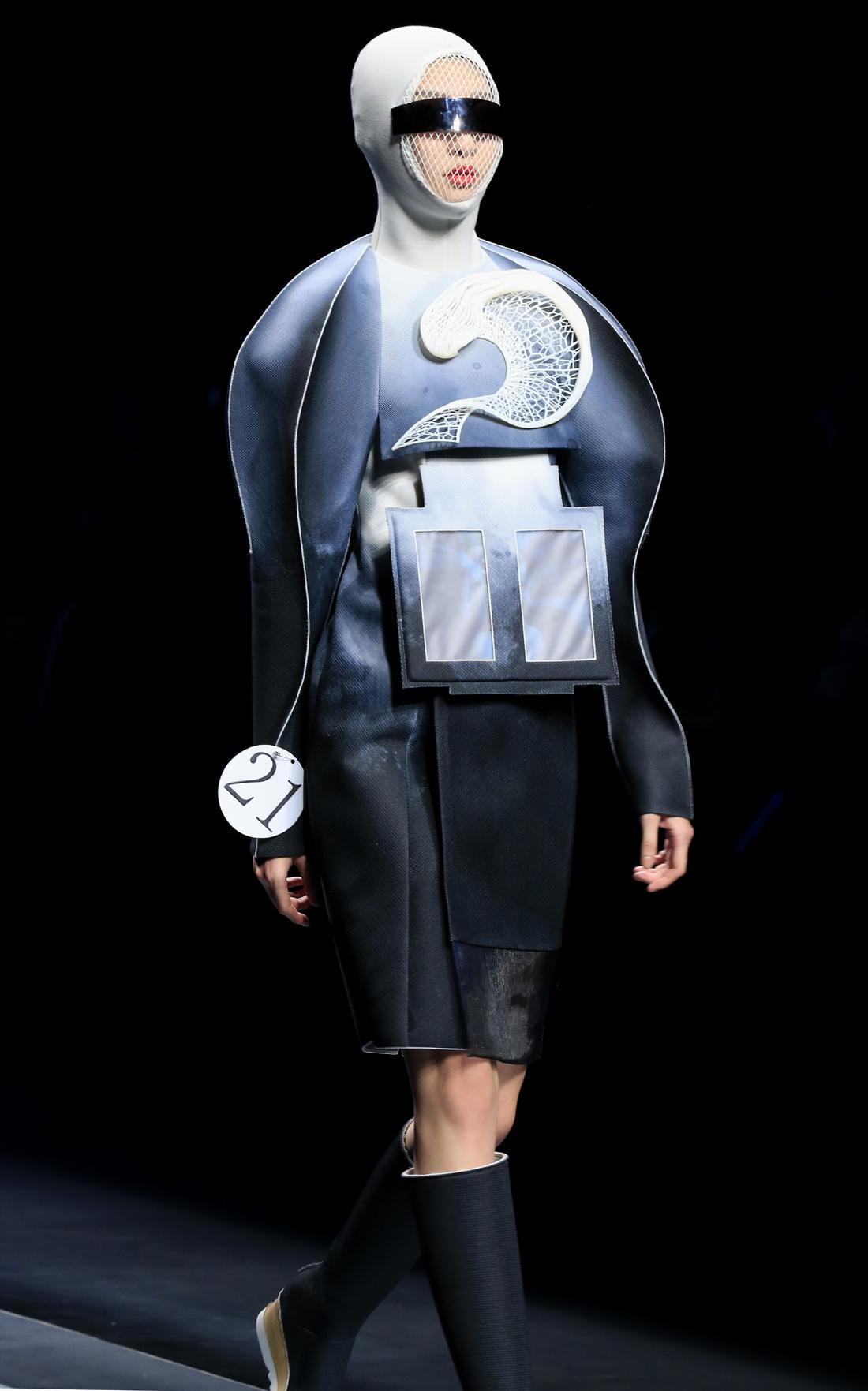 """(锐视角)(1)""""汉帛奖·第23届中国国际青年设计师时装作品大赛""""揭晓"""