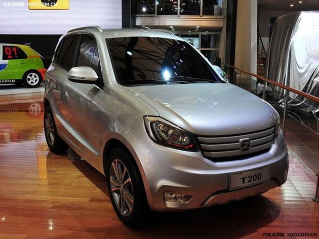 众泰汽车众泰T200外形图-吉安 众泰T200 最高优惠5千 现车销售高清图片