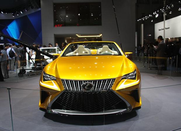 2015成都车展实拍雷克萨斯概念车LF-C2