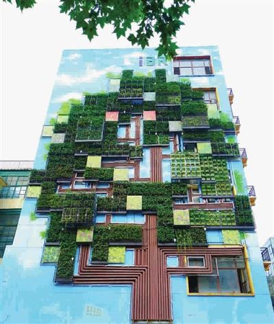 墙面手工制作立体大树