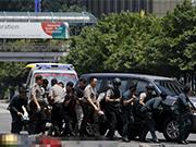 """警方接到来自""""伊斯兰国""""的威胁"""
