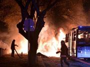 土耳其首都安卡拉汽车爆炸已造成至少28人死亡
