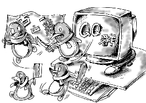 "QQ群里演双簧诱人""炒金""骗千万"