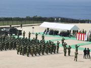 日本建与那国岛军事基地