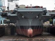 美最贵航母建造七年将入役