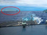 中国海军在西太演习遭美日战舰尾随